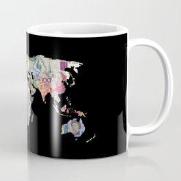 world currency map Coffee Mug