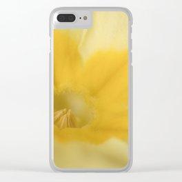 Spring Primrose Clear iPhone Case