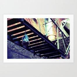 Chinatown Wind Chimes Art Print