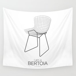 Chairs - A tribute to seats: I'm a Bertoia (poster) Wall Tapestry