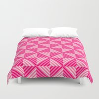 pyramid Duvet Covers featuring Pyramid by Matt Borchert