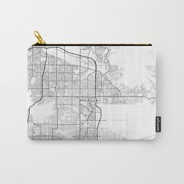 Minimal City Maps - Map Of Scottsdale, Arizona, United States Carry-All Pouch