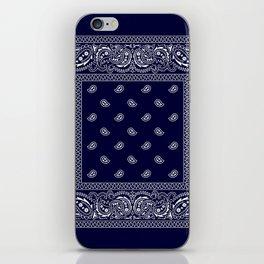 Bandana - Navy Blue - Southwestern iPhone Skin