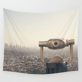 The View: City of Angels Wall Tapestry