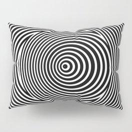 Black and White Dizzy Pillow Sham