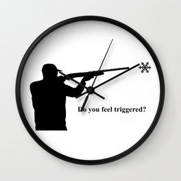 Do you feel triggered? Wall Clock