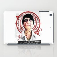 "silent hill iPad Cases featuring Silent Hill - It's time to complete the ""21 Sacraments"" by Emme Gray"
