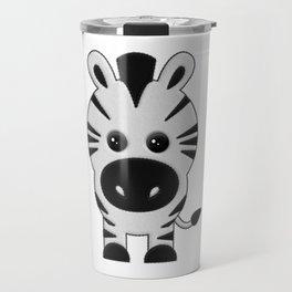 Cebra de Peluche Travel Mug
