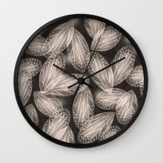 Fallen Fairy Wings - Silver Screen Edition Wall Clock