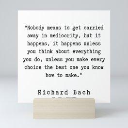 68 | Richard Bach Quotes | 190916 Mini Art Print