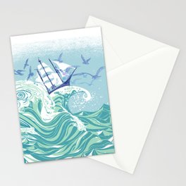 Sea Fever Stationery Cards