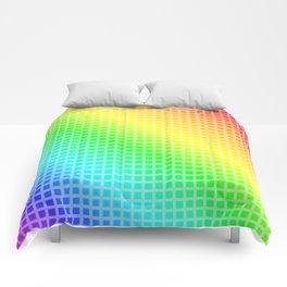 Rainbow Squares Comforters