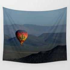 Hot Air Balloon over Arizona Morning Wall Tapestry