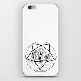 Terrarium Queen iPhone Skin