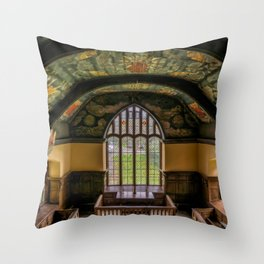 Sun and Moon Chapel Throw Pillow
