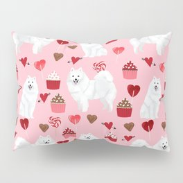 Japanese Spitz cupcakes valentines day pure breed dog pattern pet gifts for dog lovers Pillow Sham