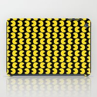 pac man iPad Cases featuring Pac-Man by Jennifer Agu