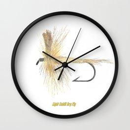 Light Cahill Dry Fly Wall Clock