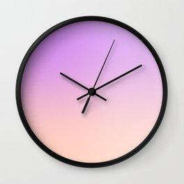 Color skt pastel1 Wall Clock
