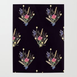 dried flower bouquet Poster