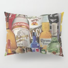 Beer Me Collage Pillow Sham