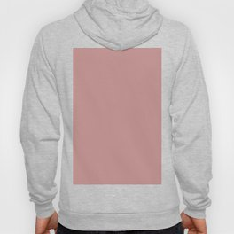Solid Khaki Rose Color Hoody