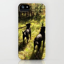 Tennis Ball Season iPhone Case