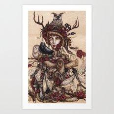 Wild Soul Art Print