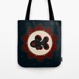 Butterfly goldfish Tote Bag