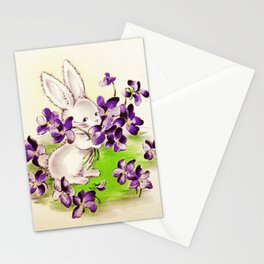 Lilac the Easter Bunny Stationery Cards