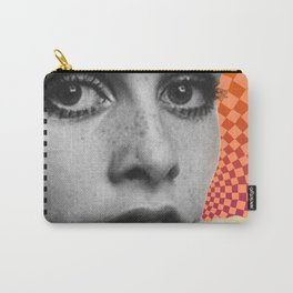 Supermodel Twiggy 2 - Supermodels of the Sixties Series Carry-All Pouch