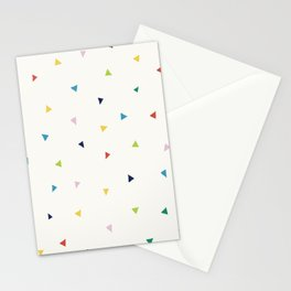 Cute Confetti Pattern Stationery Cards