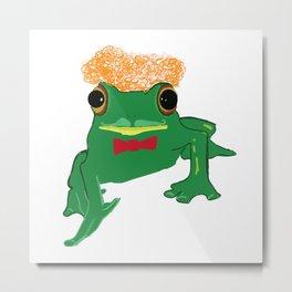 Mr Frog Metal Print