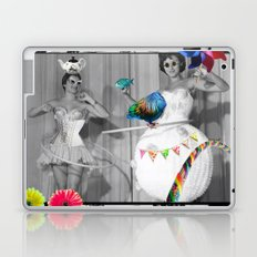 Hooping Homemakers with a blue fish (and other things) Laptop & iPad Skin