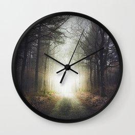 Final destination Wall Clock