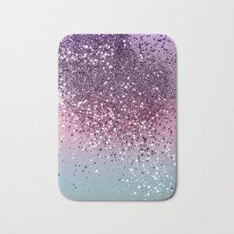 Unicorn Girls Glitter #6 #shiny #pastel #decor #art #society6 Bath Mat