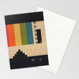 VHS Pixels Stationery Cards