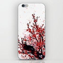 Spring Sacura tree iPhone Skin