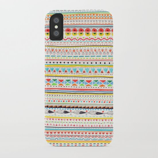 Pattern No.2 iPhone Case