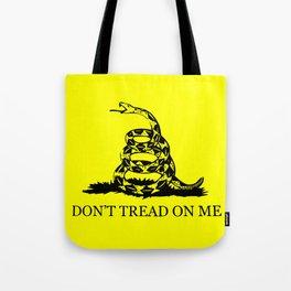 Gadsden flag - Don't tread on me Tote Bag