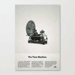 The Time Machine – Classic Beetle Ad Canvas Print