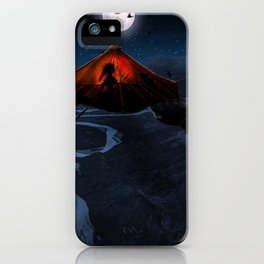 caution to the wind iPhone Case