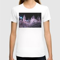 hogwarts T-shirts featuring Hogwarts by Anabella Nolasco
