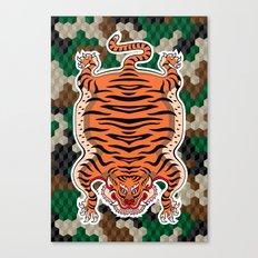 TIBETAN TIGER Canvas Print