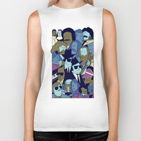 blues brothers Biker Tanks featuring The Blues Brothers by Ale Giorgini
