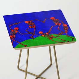 Red Dance, after Matisse Side Table