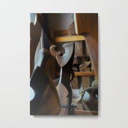 Fórcola On Display Metal Print