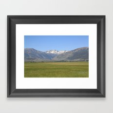 Sawtooth  Framed Art Print