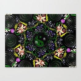 Vibrational Energy- Yin Yang Canvas Print