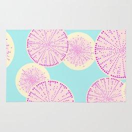 Watermelon Radish Abstract Rug